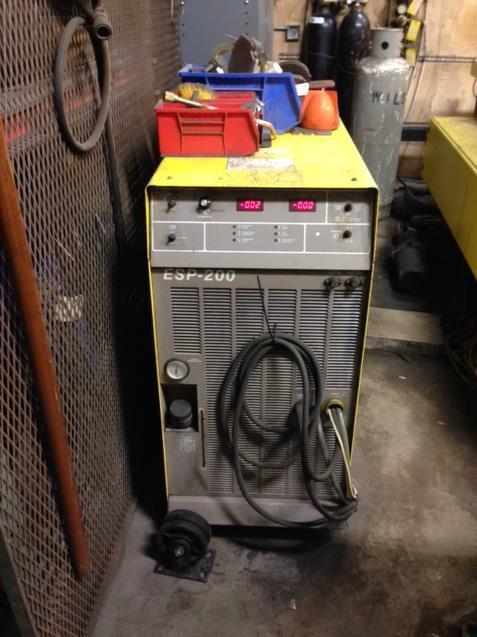 Esab Shadow 200 Amp Cnc Plasma Cutter